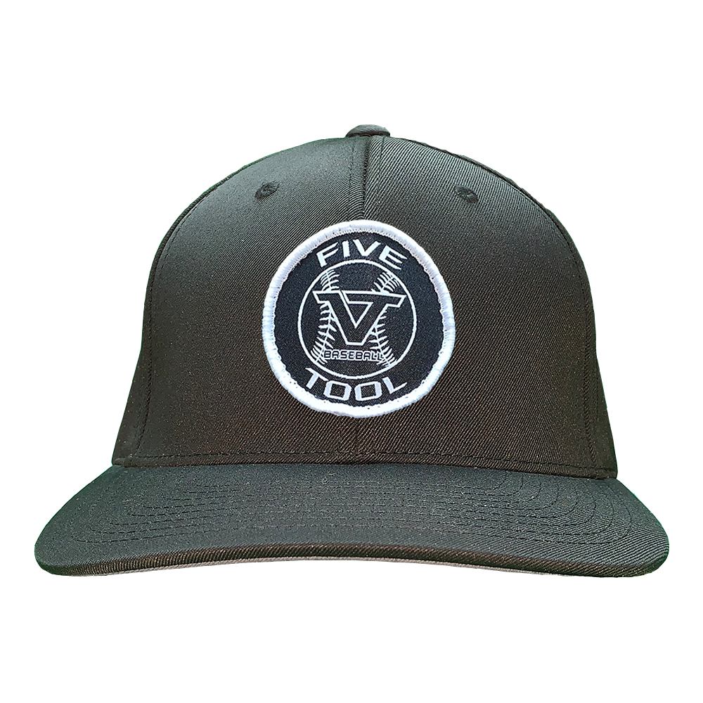 Black 'Icon' Fitted Cap - BLK