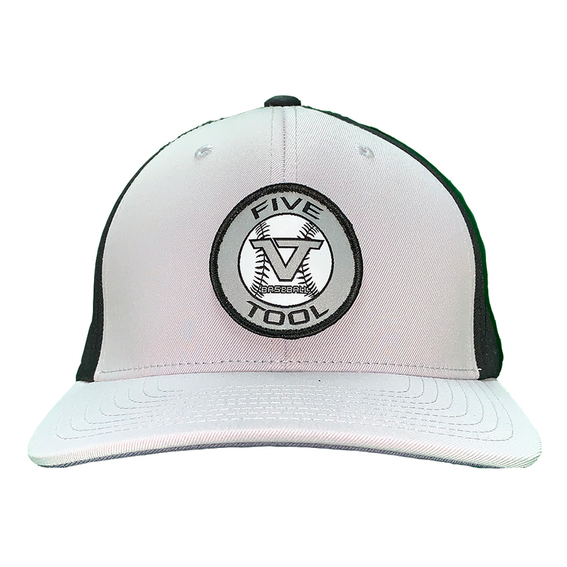 Grey 'Icon' Fitted Cap - GRY