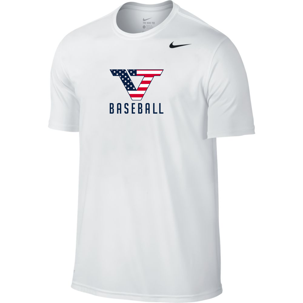 White 'Pro Style' Short Sleeve Legend Tee - USA
