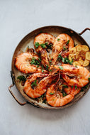 Shell-On Garlic & Chilli King Prawns (Tapas)