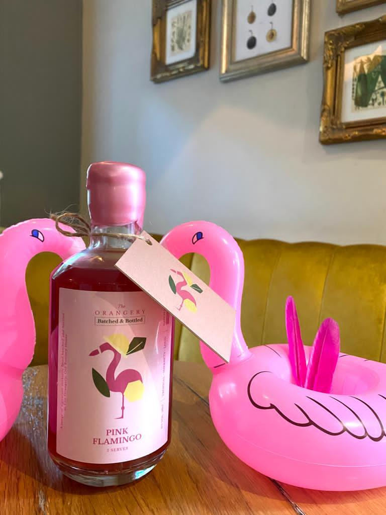 Batched + Bottled - THE PINK FLAMINGO - 5 Serves