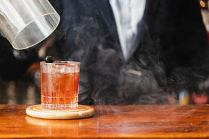 CHERRY WOOD SMOKED OLD FASHIONED - 10 Serves (Click & Collect)
