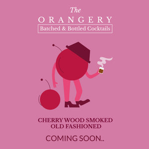 Batched + Bottled - CHERRY WOOD SMOKED OLD FASHIONED - 10 Serves