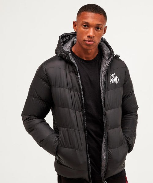 Kings Will Dream Strett Reversible Jacket in Black or Grey