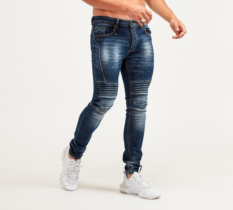 Glorious Gangsta Dimarni Slim Fit Mid Wash Denim Jean
