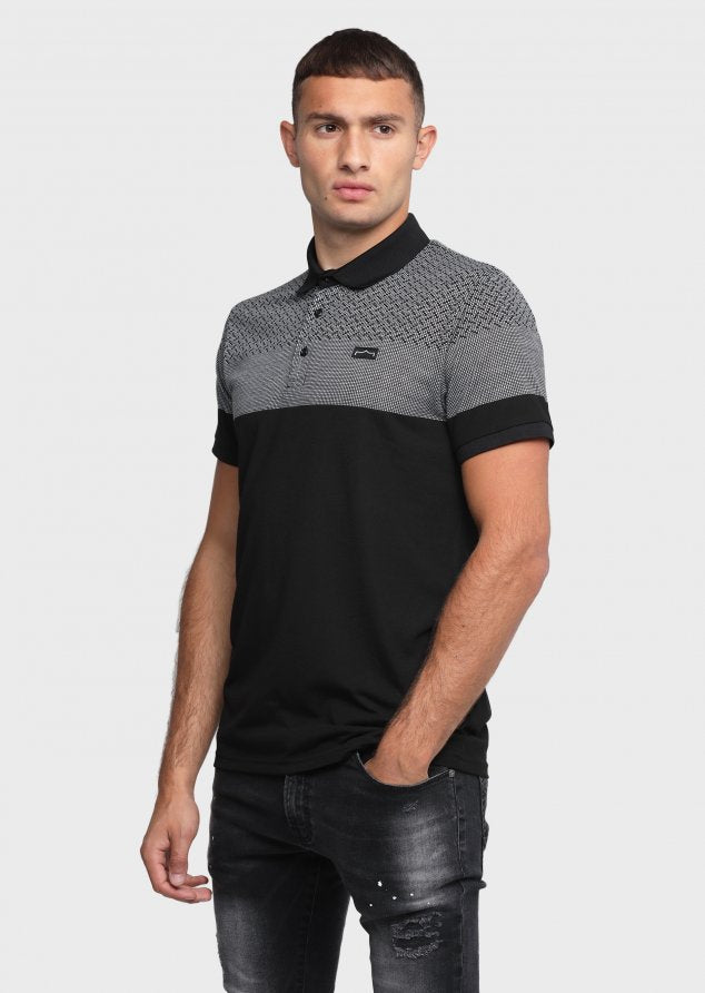 883 Police Emerg Mens Polo Shirts in Black