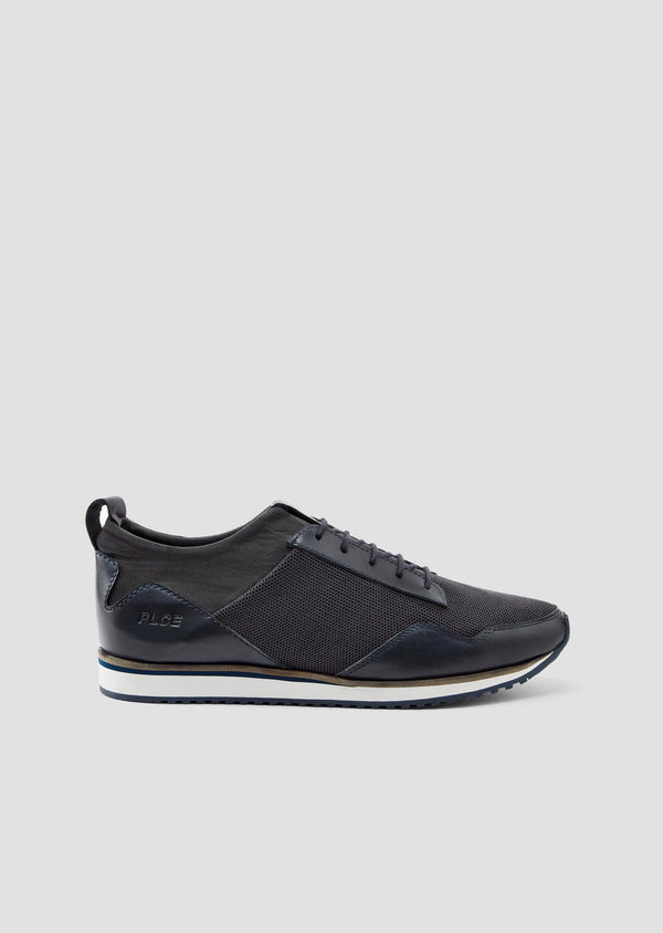 883 Police Mastal Sneaker Trainers in Navy Blue