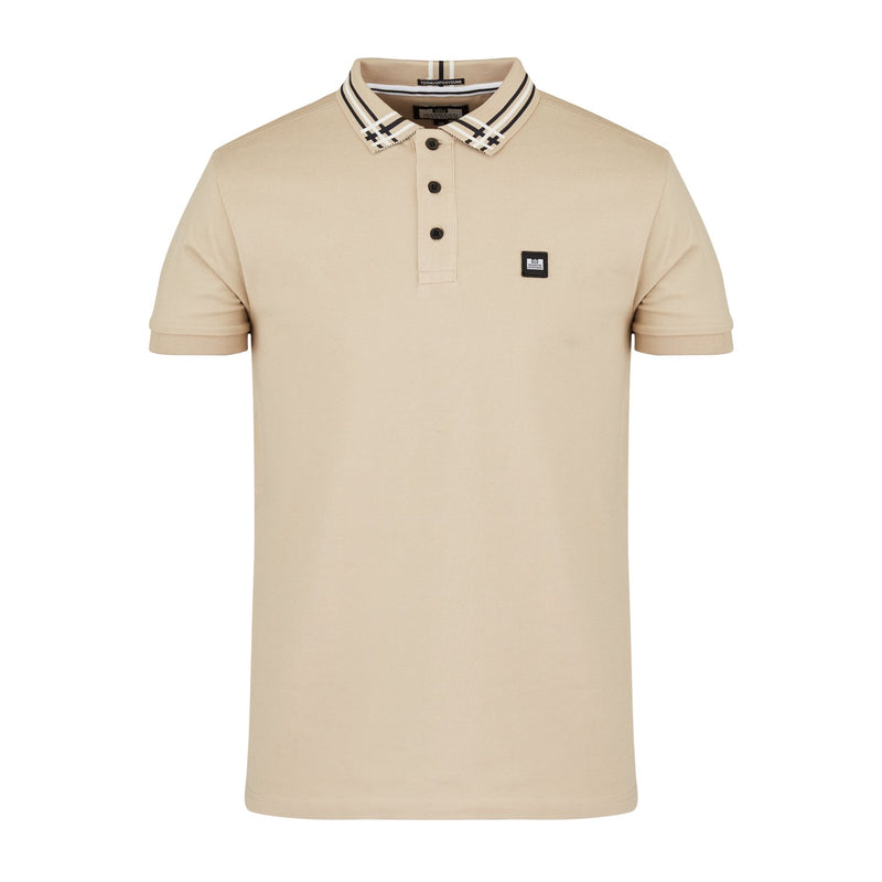 Weekend Offender New Style Mens Polo Shirt Rivera in Mushroom