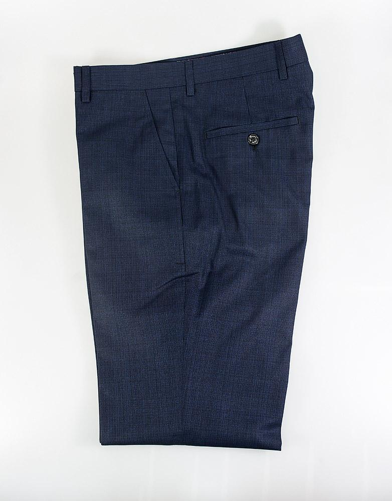 Cavani Seeba Slim Fit Trousers in Navy Blue
