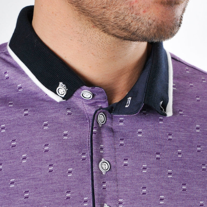 Bewley Ritch Dina Polo shirt in Plum