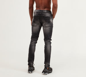 Kings Will Dream Gini Slim Fit Stretch Denim Jeans in Black Wash