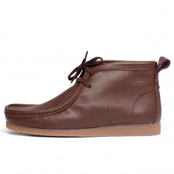 Deakins Sankey Leather Wallaby Boots in Brown
