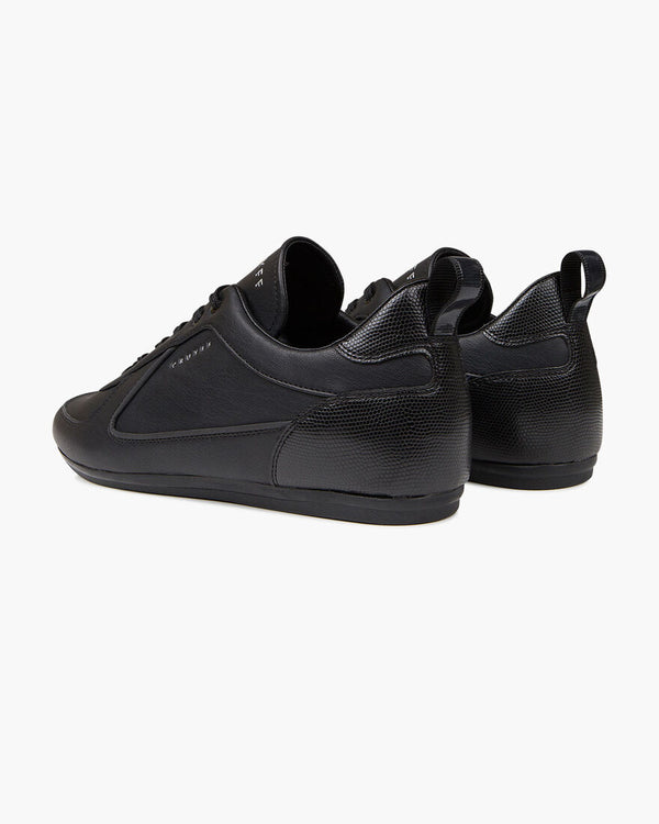 Cruyff The Nite Crawler low-profile sneaker mens trainer V2 BLACK