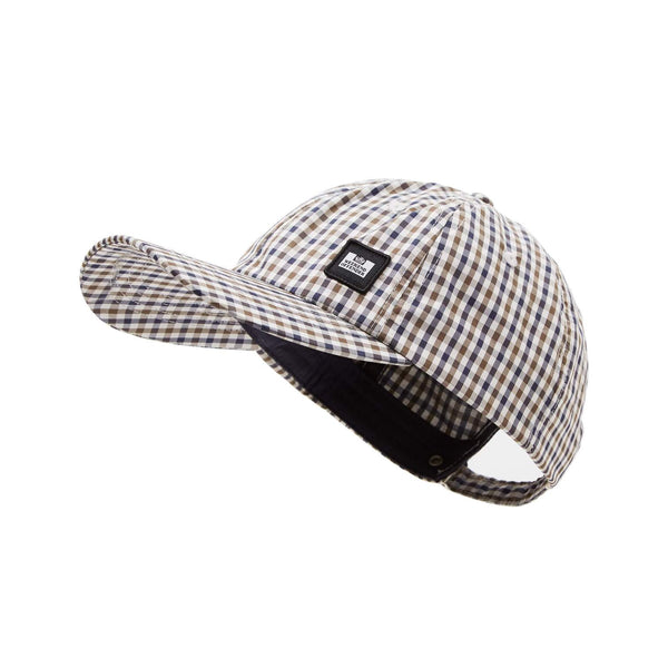 Weekend Offender Clay Nylon Check Mens Casuals Baseball Cap