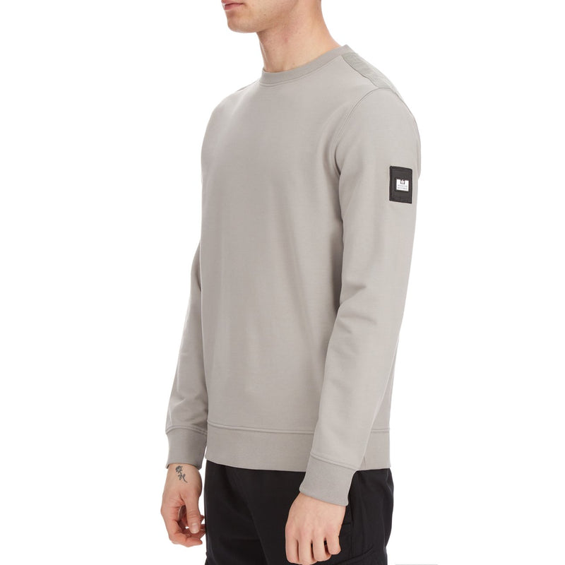 Weekend Offender F Bomb Mens Casuals Sweatshirt in Bullet Grey