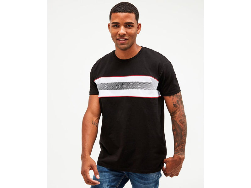 Kings Will Dream mens logo t-Shirt Vendon Tee in Black