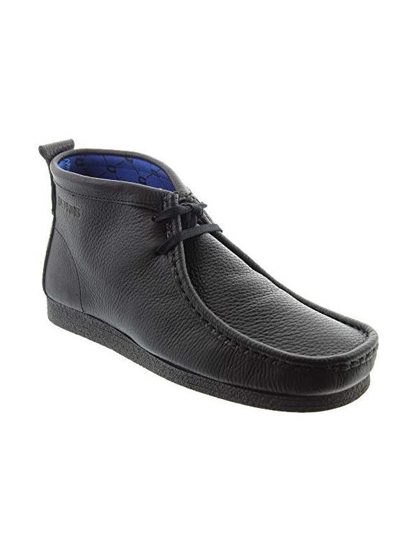Deakins Sankey Designer mens shoes in BLACK