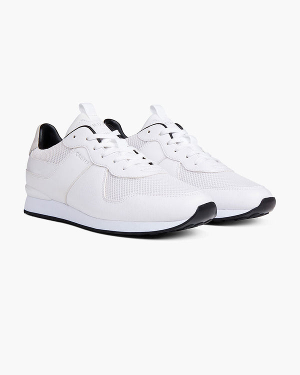 Cruyff Hybrid Sports Runner Sneaker Trainer mens Cosmo in Brilliant White