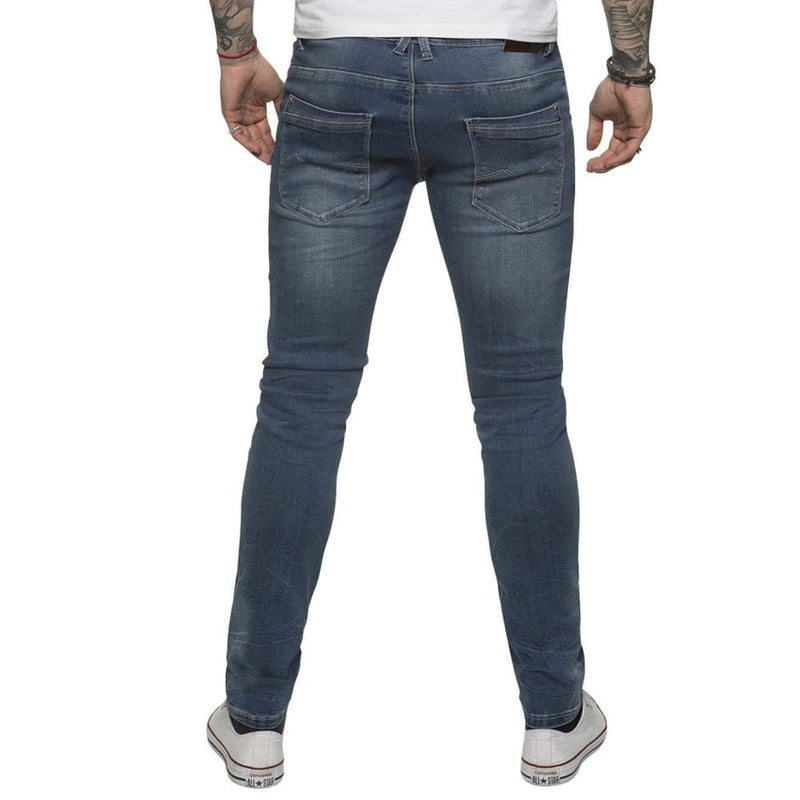 Eto Jeans Stretch Denim Em580 Light Stonewash Blue