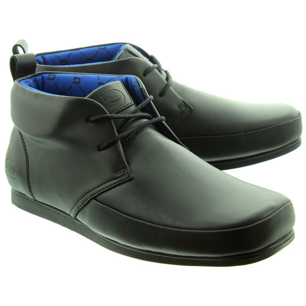 Deakins Jagger Mens Ankle Boots in Black