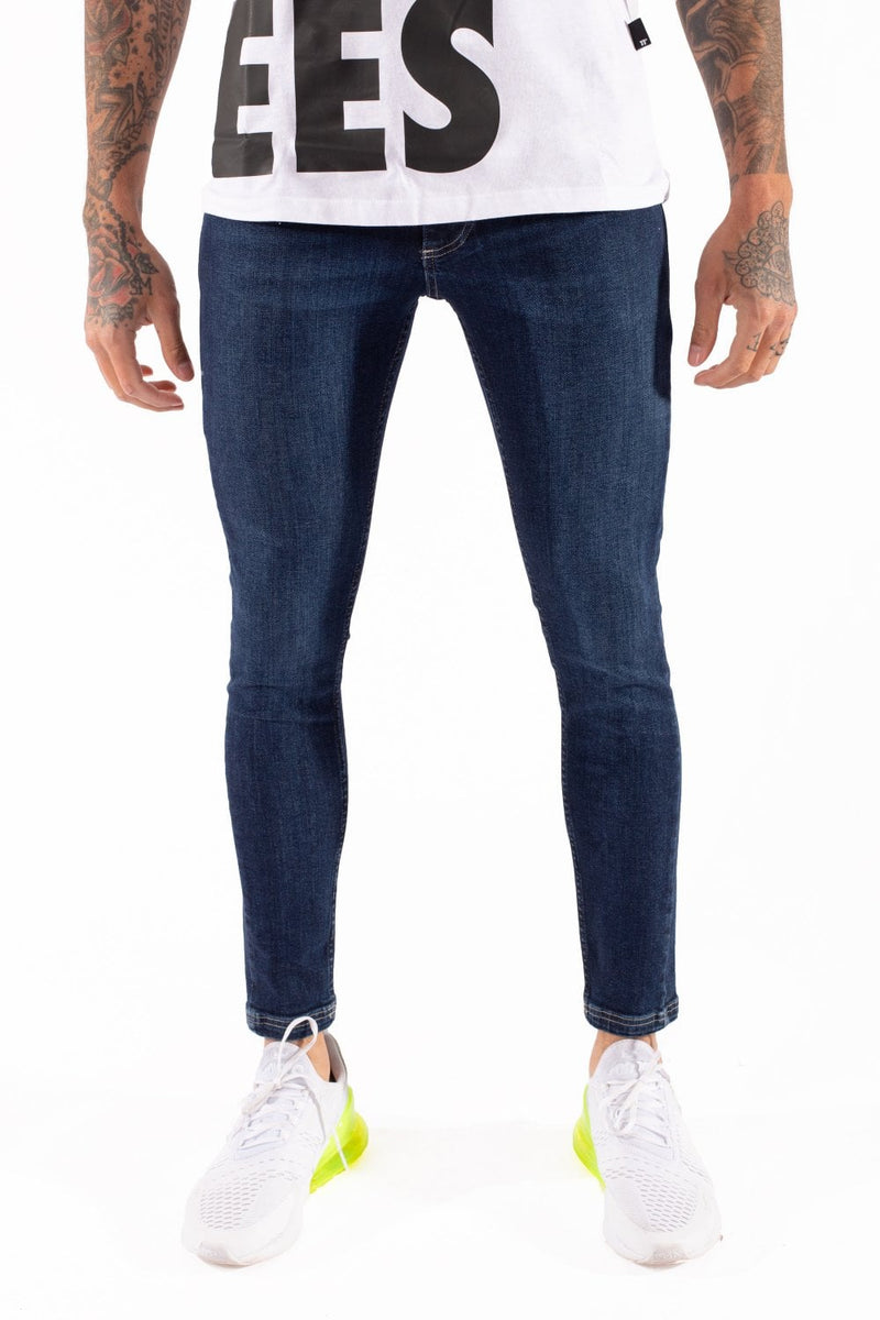 11 Degrees Essential Super Stretch Denim Jean Indigo Blue