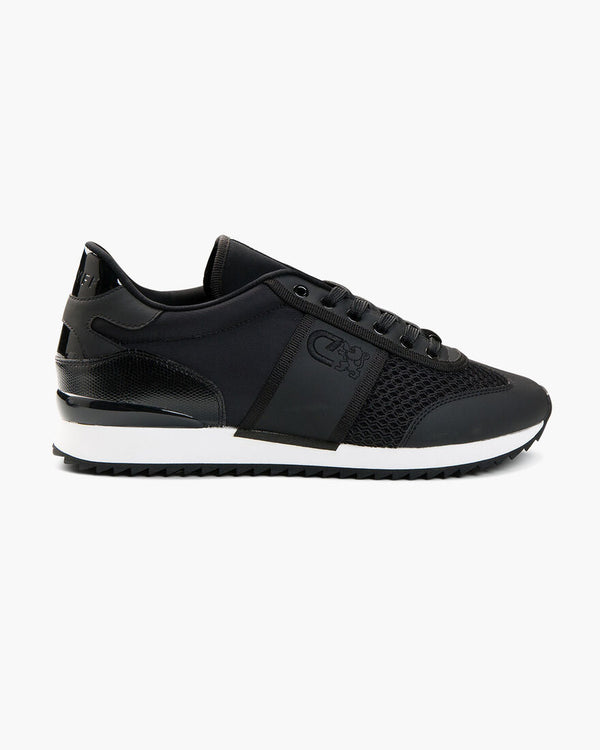 Cruyff Warm Up Matte Everyday sneaker that epitomises luxury in Black