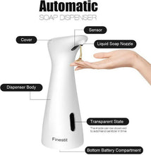 Load image into Gallery viewer, HandsFree™ Automatic Soap Dispenser Electric IR Sensor Touchless Liquid Dispenser
