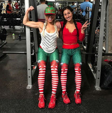 Load image into Gallery viewer, CandyStripes™ Christmas Holiday 3D Print Leggings High Waist Fitness Workout Pants