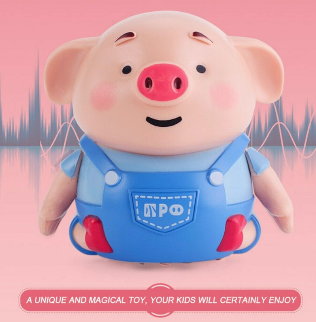MagicPig™ Pen Inductive Toy Pig Educational Creative Line ...