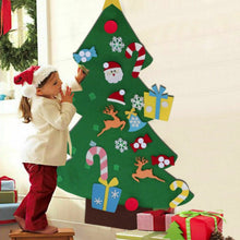 Load image into Gallery viewer, DIYTree™ Felt Christmas Tree Set 26 Pcs Kids Toddlers Creative Toy Wall Hanging Home Decoration