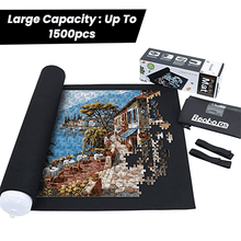 Load image into Gallery viewer, JigMat™ - Jigsaw Puzzle Storage Roll Mat