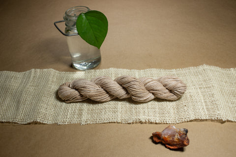 Naturally Dyed Walnut Hank