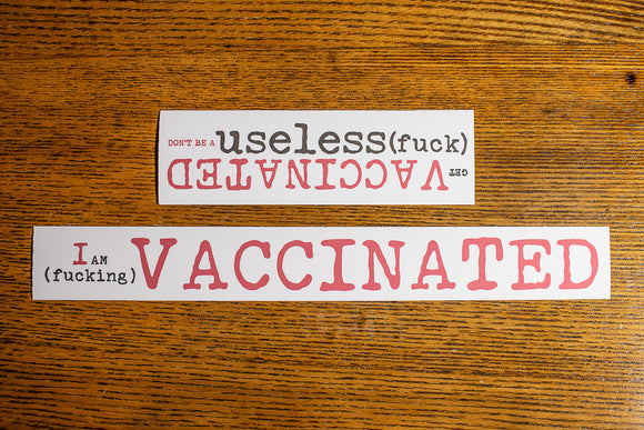 VACCINATED(stickers)
