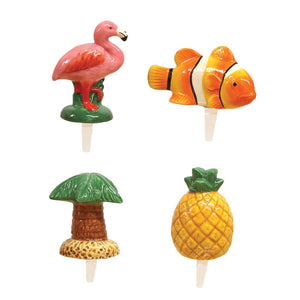 Tropical Charmers Set of 4