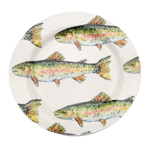 Trout Salad Plate