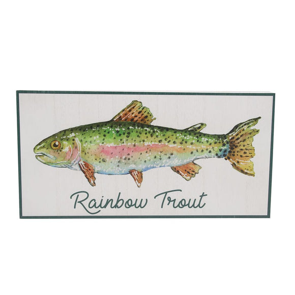 Trout Wall Sign