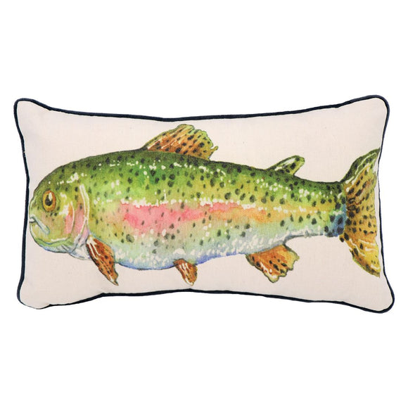 Trout Accent Pillow