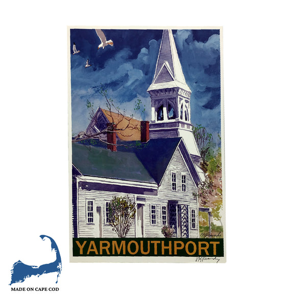 Kennedy Gallery & Studios- Hallet's Yarmouth Port Poster