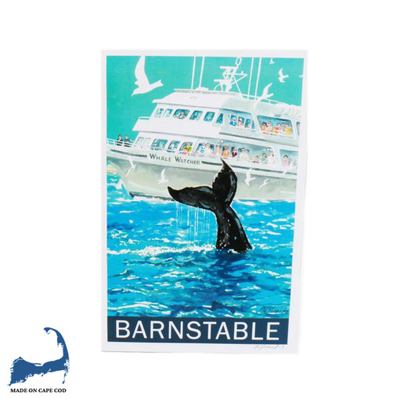 Kennedy Gallery & Studios Poster - Barnstable Whale Watch