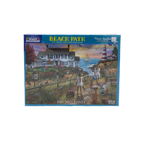 Beach Path 1000 Piece Puzzle