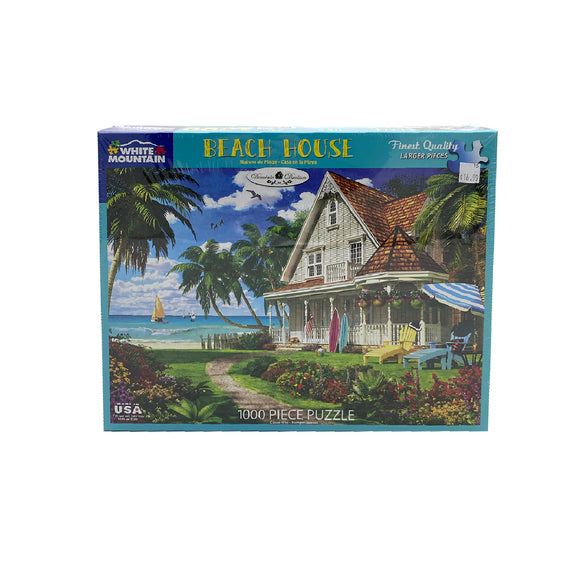 Beach House 1000 Piece Puzzle