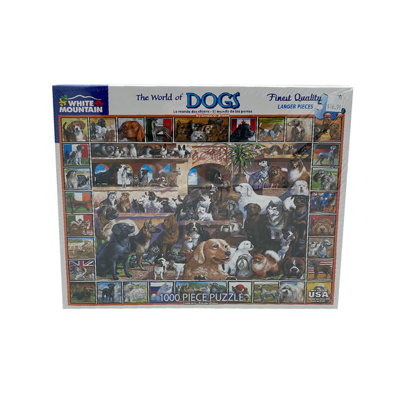 The World of Dogs 1000 Piece Puzzle