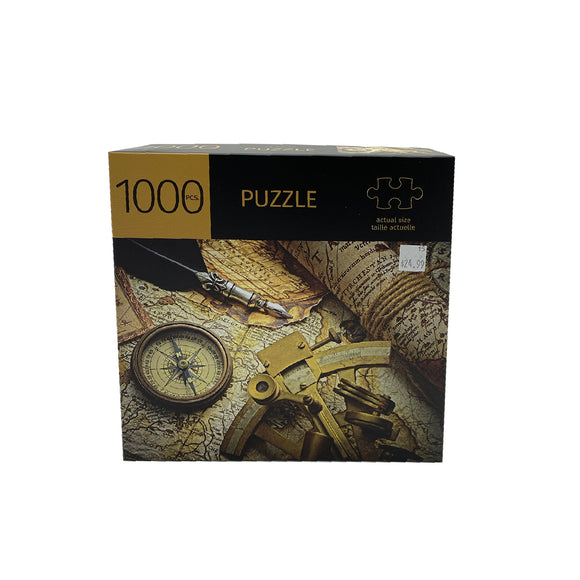 Compass Design 1000 Piece Puzzle