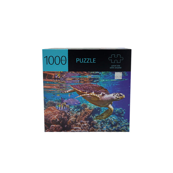 Turtle Design 1000 Piece Puzzle