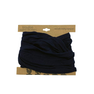 Dark Blue Head Wrap