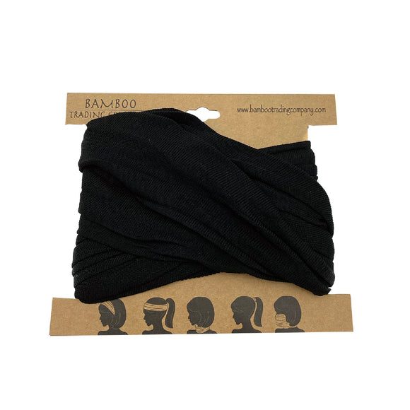Black Head Wrap
