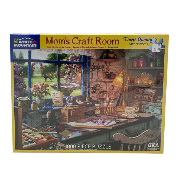 Mom's Craft Room 1000 Piece Puzzle