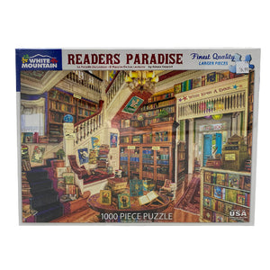 Readers Paradise 1000 Piece Puzzle