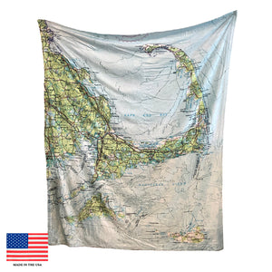 Cape & Islands Map Blanket