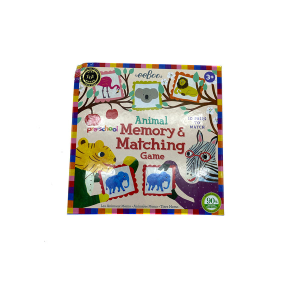 Animal Memory & Matching Game